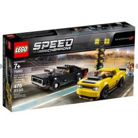 LEGO SPEED DODGE CHALLENGER...