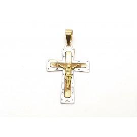 Colgante cruz de Oro...