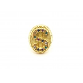 Anillo dólar Oro 18 KT 20,7...