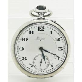Reloj de Bolsillo LONGINES Plata 0'800 Grands Prix 7 -  Cuerda Cal. 18.49 de entre 1908 a 1925