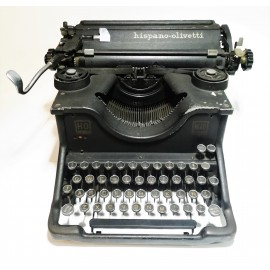 Máquina de Escribir Hispano Olivetti M40 años 40 de segunda mano
