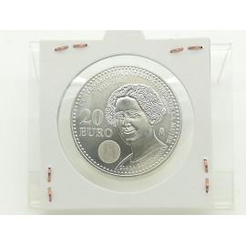 Moneda Plata de 20 Euros...