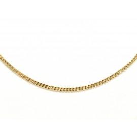 Cadena Barbada de Oro 18 K...
