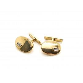 Gemelos de Oro 18 K 7.6 GR...