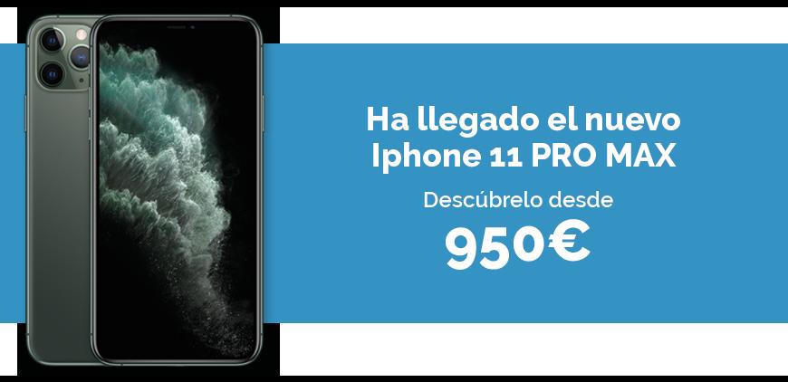 Iphone 11 pro max de segunda mano