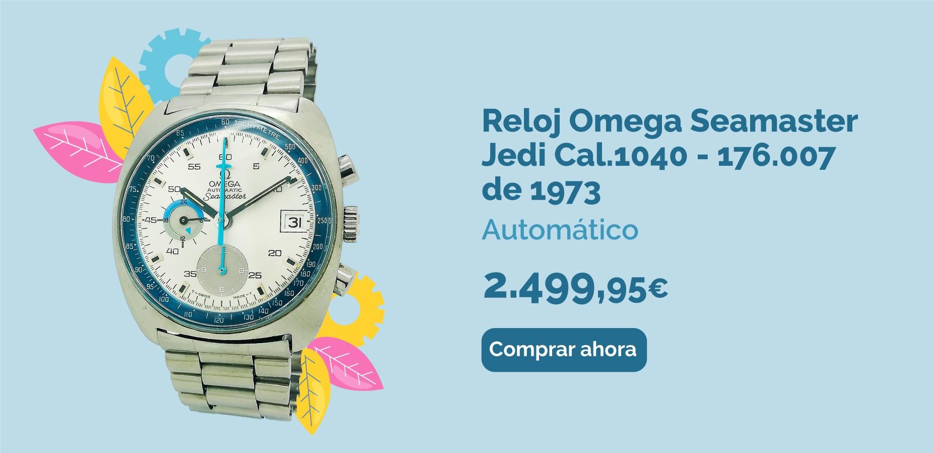 Reloj Automático Omega Seamaster Jedi Cal.1040 - 176.007 de 1973 - Raro de segunda mano